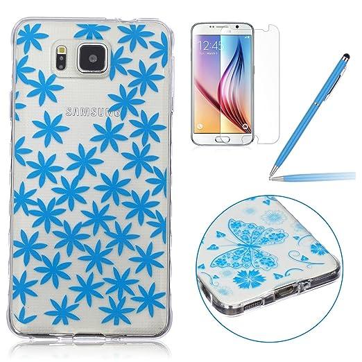 30 opinioni per Samsung Galaxy Alpha Custodia Silicone, Samsung Galaxy Alpha Cover TPU, Felfy