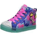Skechers Kids' Shuffle Brights-Mix 'N Patch Sneaker