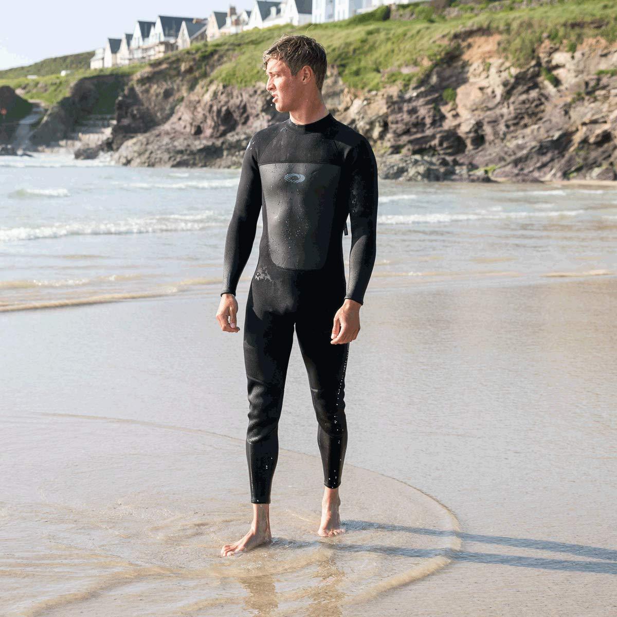 Nero o Rosso Osprey Origin muta surf neoprene uomo invernale lunga 5 mm