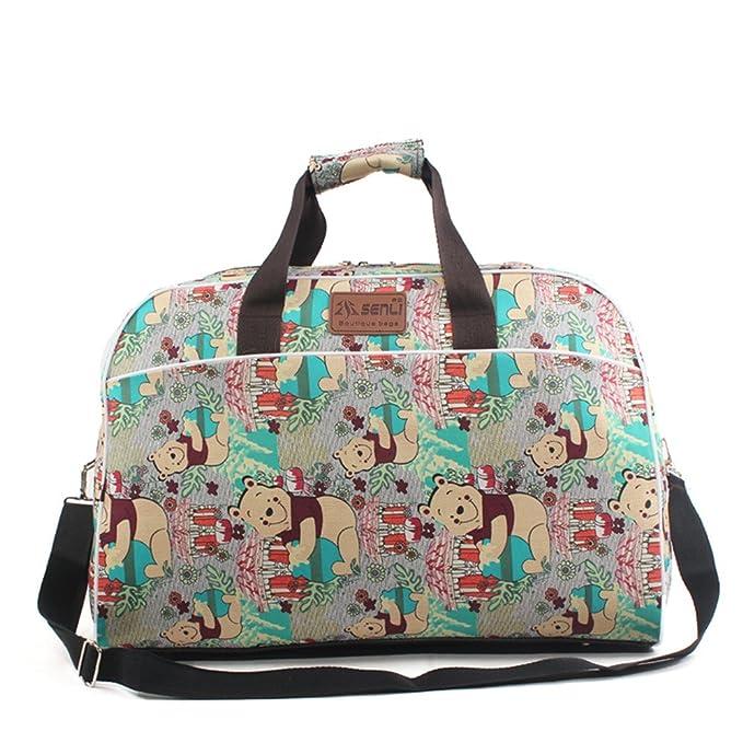 30f55dd9c66e Amazon.com | IZTOR 40L Duffle travel bag shoulder bag Handbags for ...