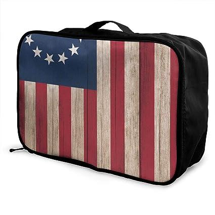 Amazon.com: Charm Trend Betsy Ross Bandera ligera ...