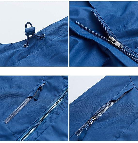 SJZC Chaqueta Impermeable Face The Cortavientos Abrigo Hombres Cazadora Invierno Jacket Chaquetas Abrigos016: Amazon.es: Deportes y aire libre