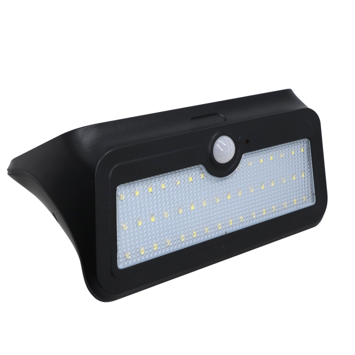 46LED 4.5Watts Waterproof LED Easy-to-Install Security Lights Solar Light Lamps Garden Lights Outdoor Landscape Lawn Lamp Wall Lamps (1Pcs) Safety (Color : Black)