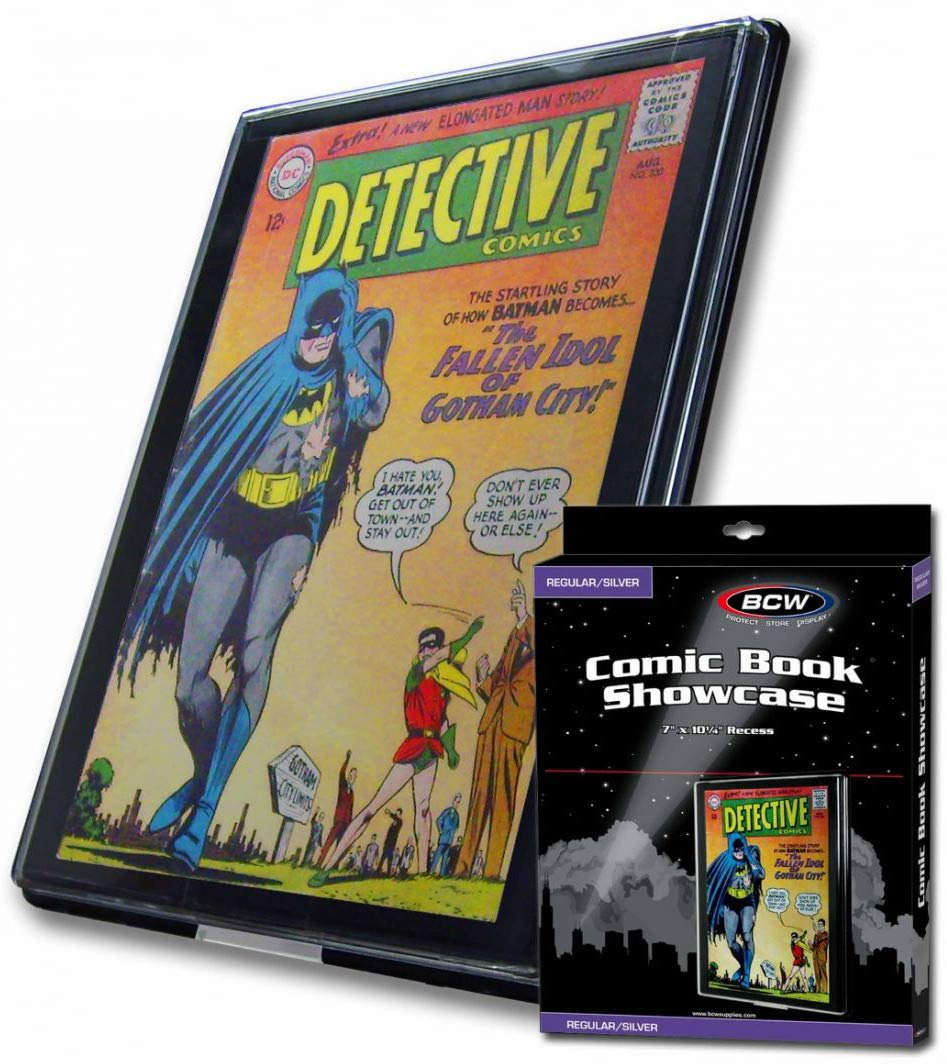 BCW Silver Age Comic Book Showcase Display Case Holder New by BCW