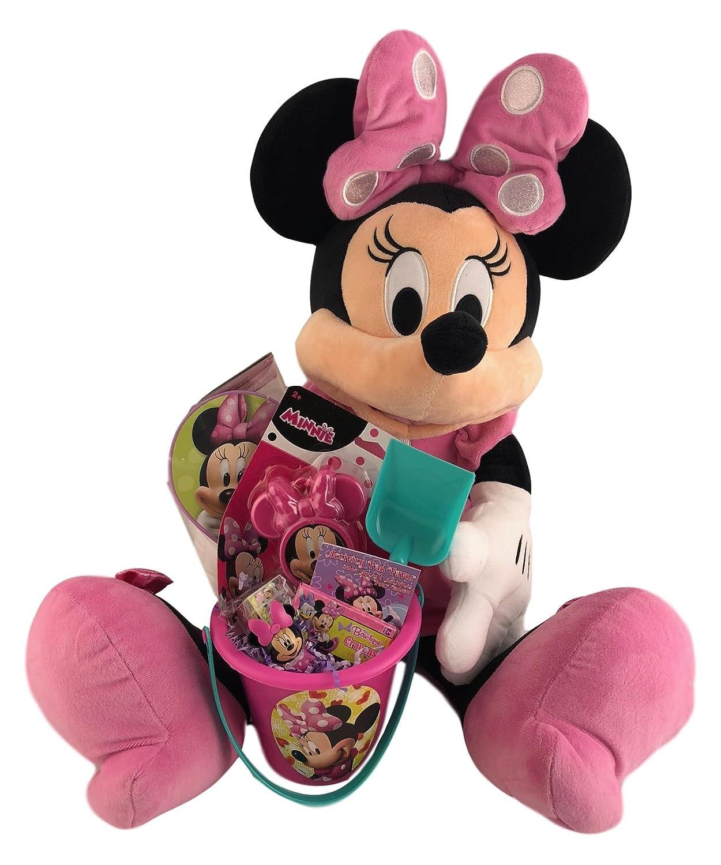 Amazon Com Large 26 Inch Minnie Mouse Stuffed Plush Gift Basket