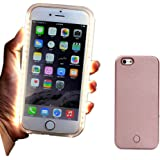 For iPhone 6 6S Illuminated LED Light Up Selfie Luminous Phone Back Cover Case (Iphone 6)