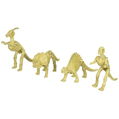 US Toy - Assorted Dinosaur Skeleton Toy Figures, Made of Plastic, (2-Pack of 12): Toys & Games
