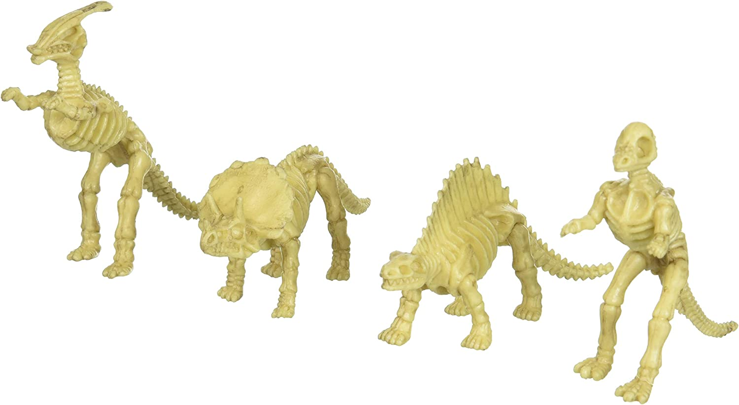 US Toy - Assorted Dinosaur Skeleton Toy Figures, Made of Plastic, (2-Pack of 12): Amazon.es: Juguetes y juegos