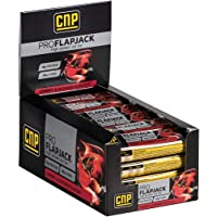 CNP Pro Flapjack - Cherry and Almond High Protein Flapjack Bars – 24 x 75g Protein Oat Bars