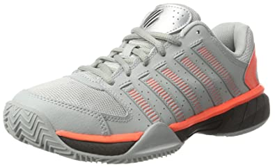 Express Light, Chaussures de Tennis Homme, Gris (Highrise/Black/Neon Blaze), 44 EUK-Swiss