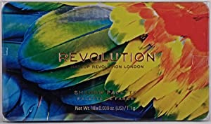 Makeup Revolution Eyeshadow Palette, Forever Flawless Bird of Paradise