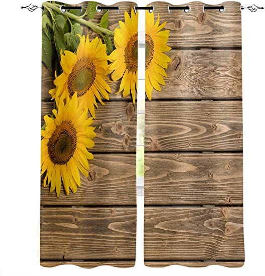 InvisibleWings Blackout Curtains 2 Panels
