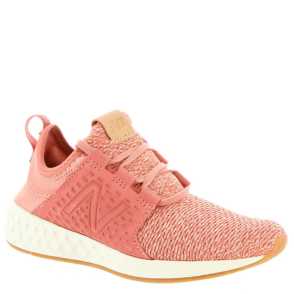 New Balance Women's Fresh Foam Cruz Knit Running Shoe, Size: 6.5 Width: B Color Copper Rose/Sea Salt/Gum