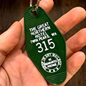The Great Northern Hotel Room # 315 Twin Peaks Inspired Key Tag