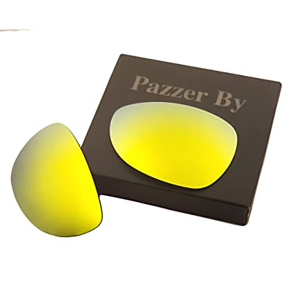 217cb0dafd11 Amazon.com  Polarized Replacement Lenses for Oakley Felon - Multiple Colors  (24K Gold Mirrored Coating
