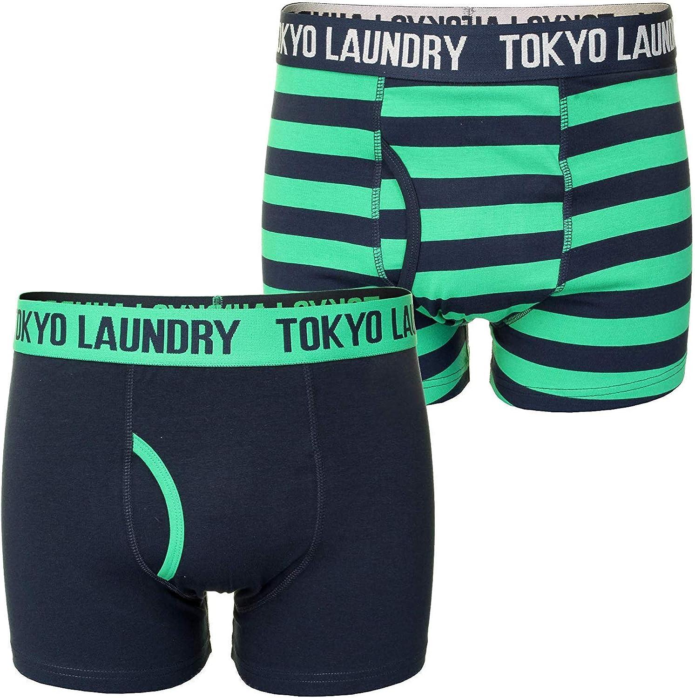 Tokyo Laundry - Bóxer para Hombre, diseño de Rayas