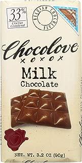 product image for Chocolove Xoxox Premium Chocolate Bar - Milk Chocolate - Pure - 3.2 oz Bars - Case of 12