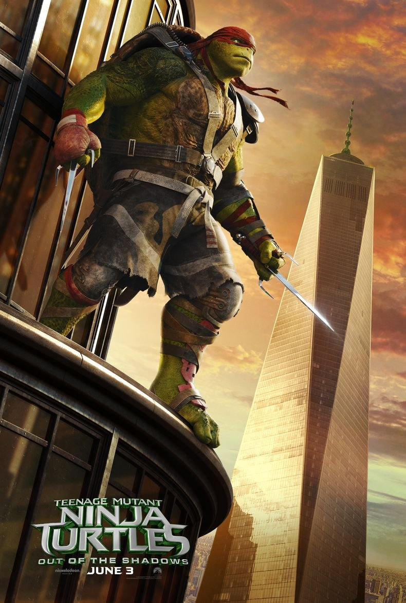 Poster Teenage Mutant Ninja Turtles out of The Shadows Movie ...