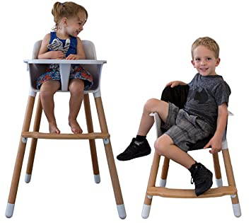 Phenomenal Be Mindful Baby High Chair White Caraccident5 Cool Chair Designs And Ideas Caraccident5Info