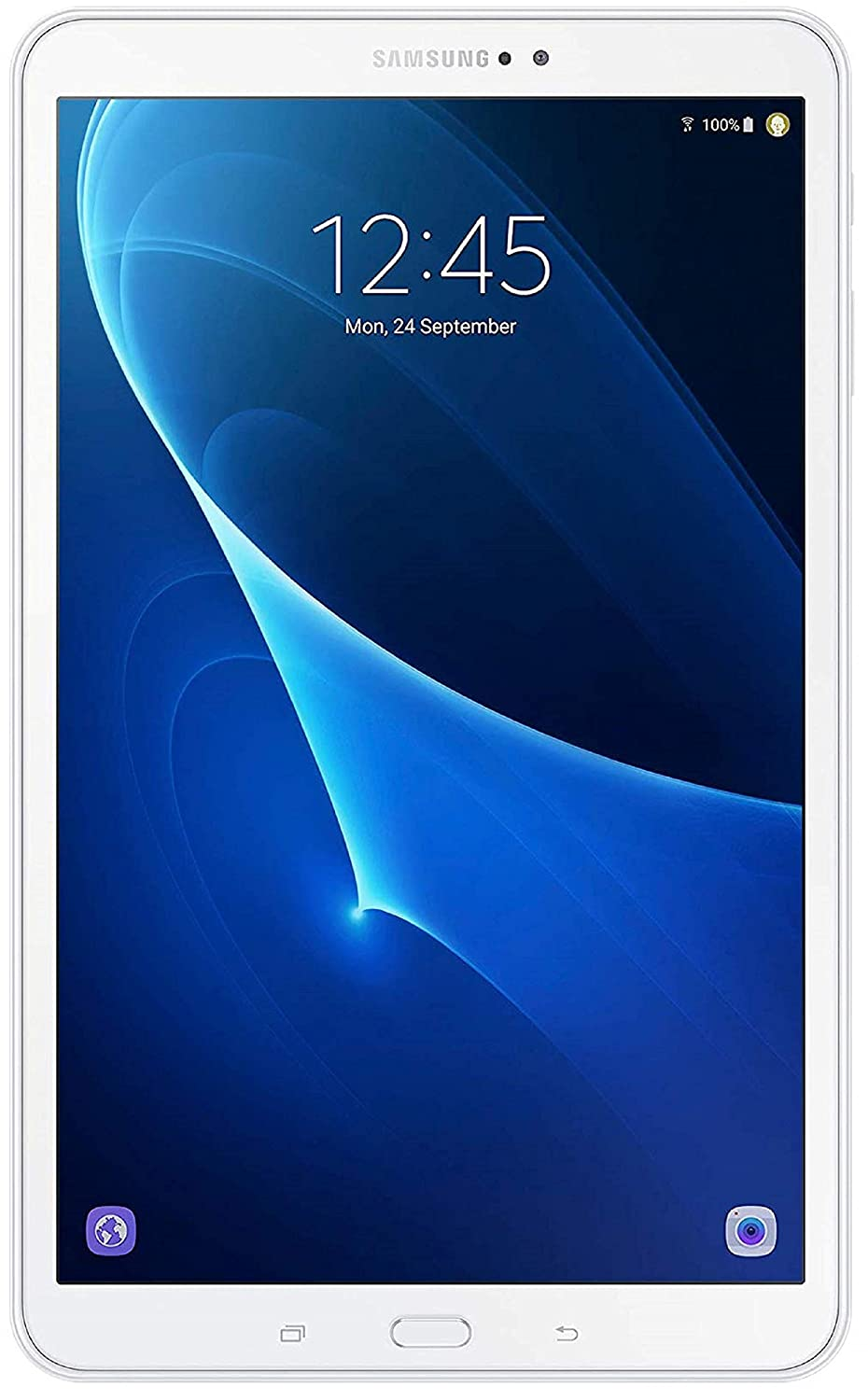 Samsung Galaxy Tab A6 SM-T280 - Tablet de 7' HD (WiFi, processeur Quad-Core, 1,5 Go de RAM, stockage de 8 Go Android 5.1), Blanc