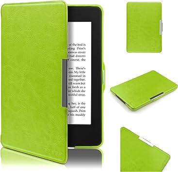 Swees® - Funda de cuero Amazon para Kindle Paperwhite (compatible ...