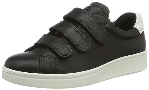 Ecco218023, Zapatillas con Velcro Mujer: Amazon.es: Zapatos y complementos