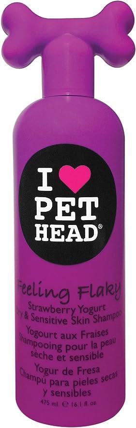 Shampoo Pet Head Feeling Flaky para Peles Secas e Sensíveis por Be Pets