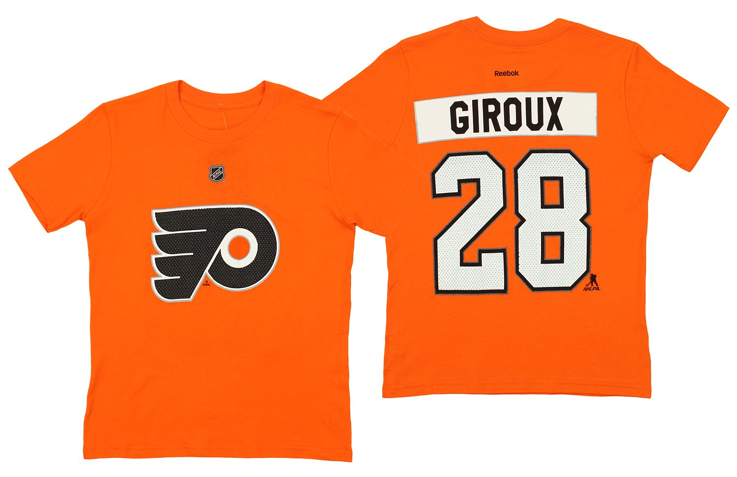 new arrival 3bf18 27d5e Claude Giroux Philadelphia Flyers NHL Youth HD Net Player T-shirt Orange