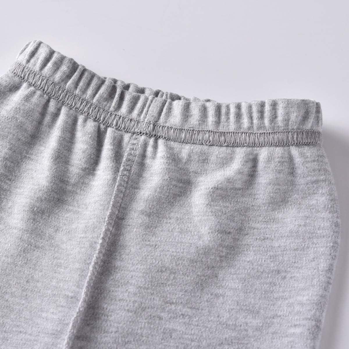 mama stadt Natale Pigiama Ragazzi Ragazza Top Pantaloni Set da Pigiama 9 Mesi-5 Anni