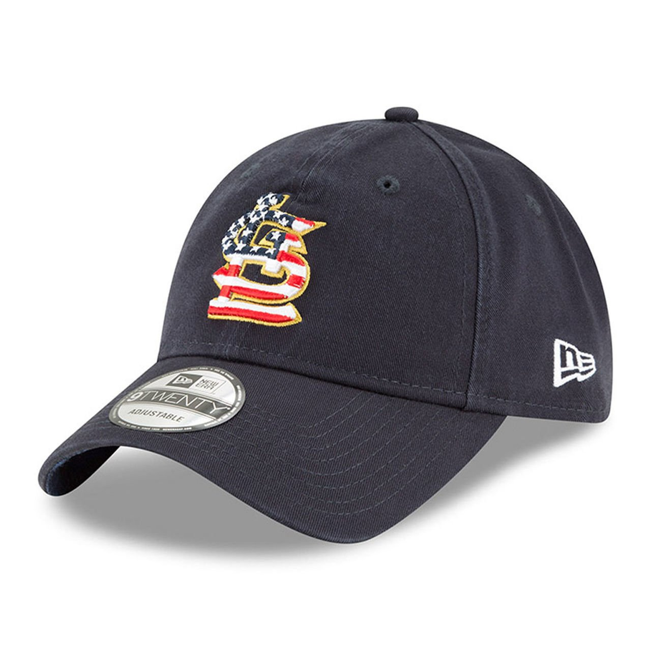 e266f8d6 New Era St. Louis Cardinals 2018 July 4th Stars and Stripes 9TWENTY  Adjustable Hat
