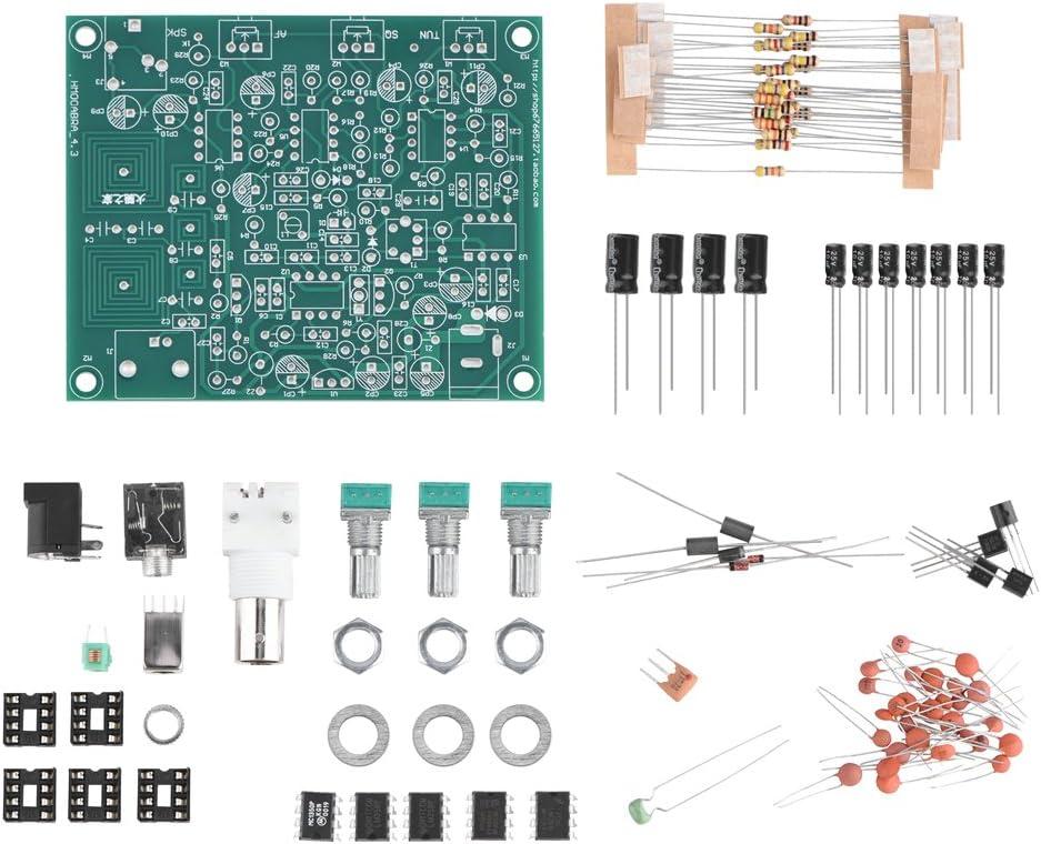 DIY Kit Radio Receiver Airband High Performance Antenna VHF Antenna The NE602 Mixer 355 High Level Bewinner DIY Aviation Radio Receiver Kit