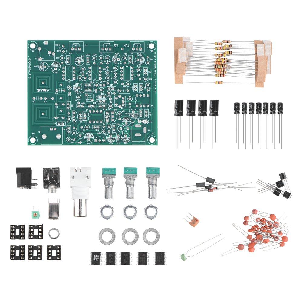 Airband Radio Receiver Aviation Band Receiver DIY Kit High Sensitivity 118-136MHz AM Zerone