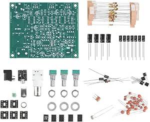Hakeeta Receptor de Radio de Banda aérea, Fuente de alimentación de 12 V con Filtro de Paso de Banda Receptor de Radio de aviación Integrado Kit de ...