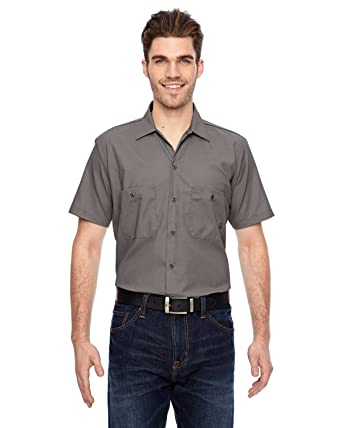 d95e7ce4773 Amazon.com  Dickies Occupational Workwear LS535GGL LS535 Industrial Short  Sleeve Work Shirt