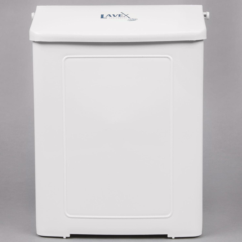 ホワイトプラスチックwall-mount Sanitary Napkinレセプタクル( Imp 1102 ) by Tabletop King ホワイト TTK-BRCCE-145  ホワイト B07B7N4QRM
