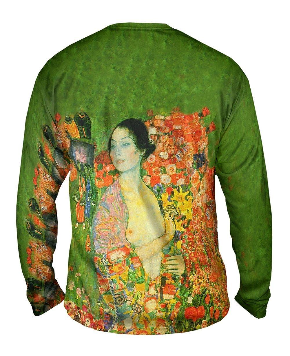 Yizzam 1918 Mens Long Sleeve Gustav Klimt The Dancer -TShirt