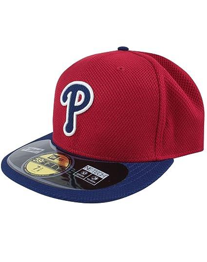 8a0d71a4290 New Era 59Fifty MLB Philadelphia Phillies Cap  Amazon.co.uk  Clothing