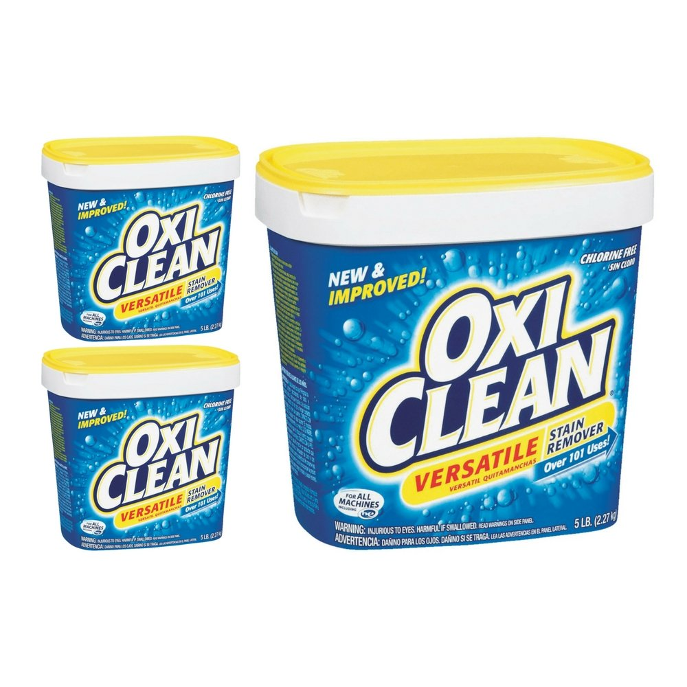 Oxiclean Versatile Stain Remover, 80 Ounces (3 Pack)