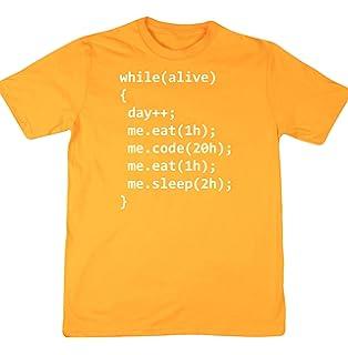 HippoWarehouse Day of programmer (Día de un programador informático)  camiseta manga corta… 839369f87adad