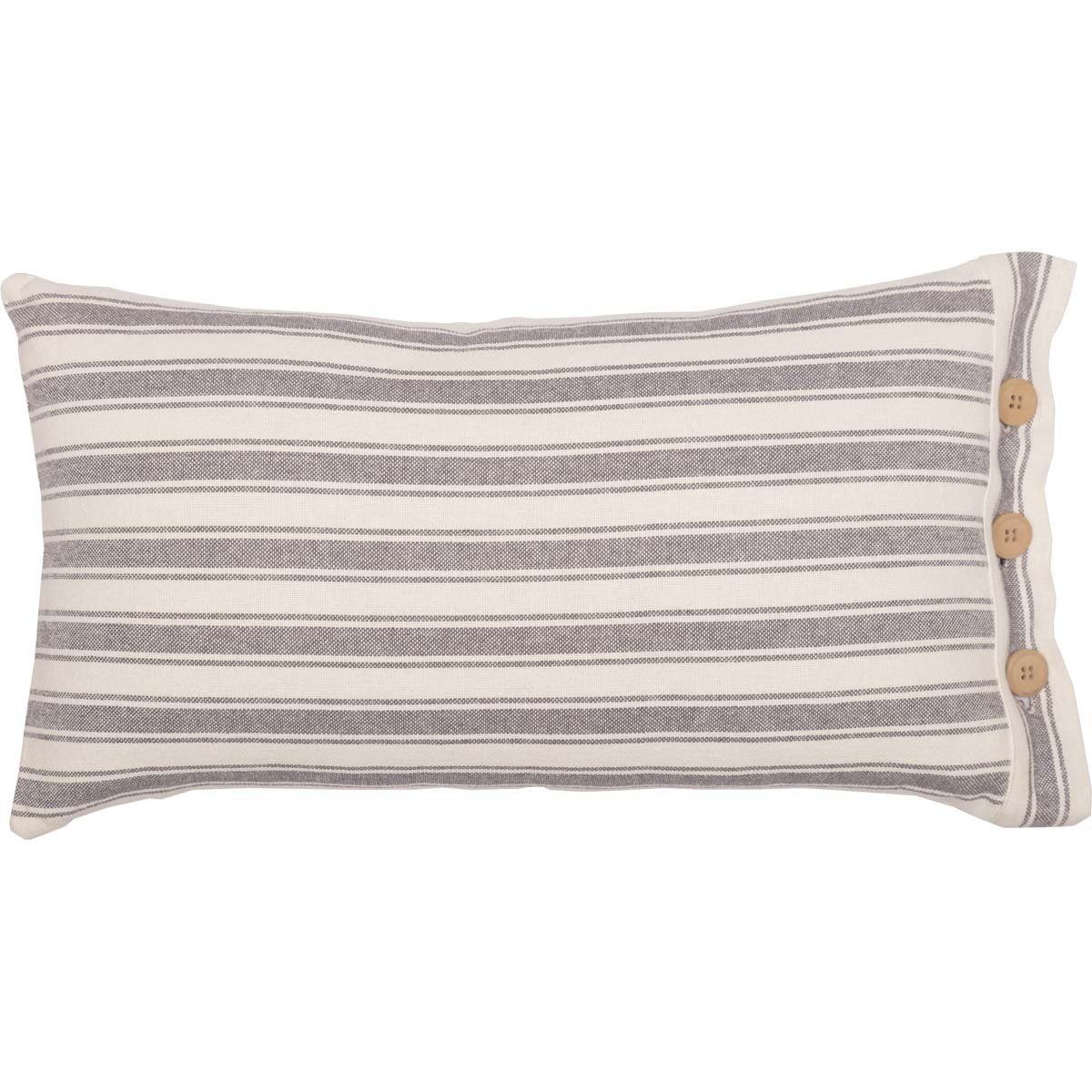 French Ticking Stripe Pillow Cover