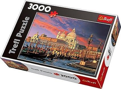 TREFL 33020 - Puzzle (3000 Piezas), diseño Venecia: Amazon.es: Juguetes y juegos