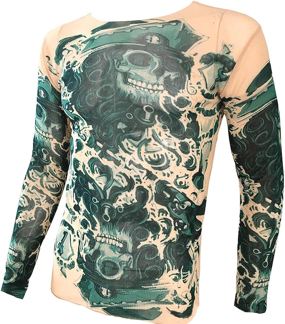 OMAS Camiseta con Estampado de Tatuajes Navy Devil Tattoo, en la Parte Superior Biker Biking Fitness: Amazon.es: Ropa y accesorios