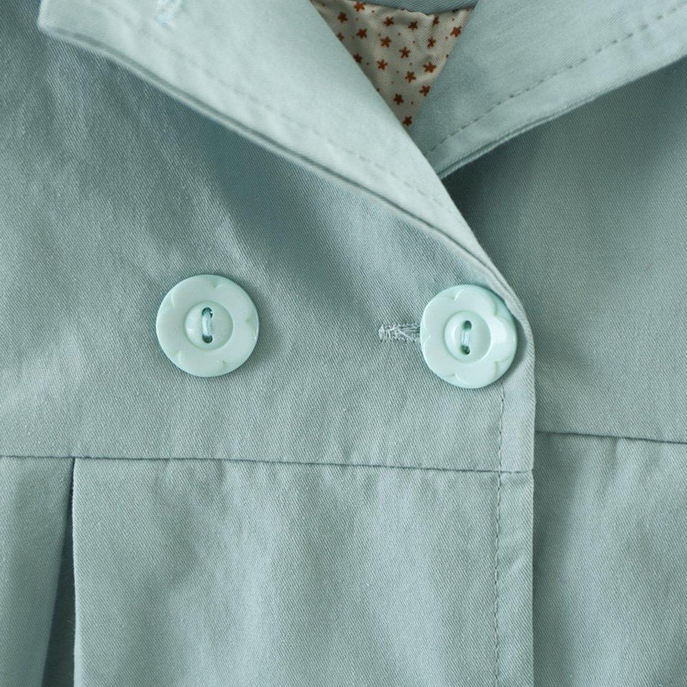 YaoDgFa Baby M/ädchen Jacke Mantel Trenchcoat Sweatjacke Prinzessin Kinderjacken Kleidung Outerwear 0-3 Jahre Fr/ühling Herbst