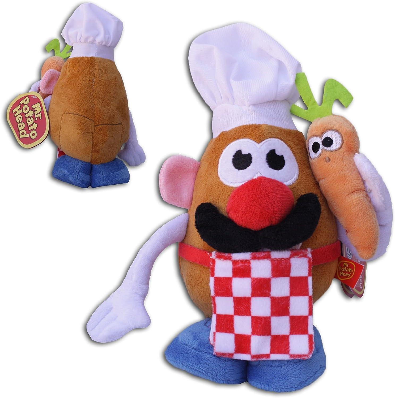 Mr. Potato Head 25cm Muñeco Peluche Cocinero Disfraz Juguete Suave ...