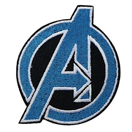 amazon com graphic dust patch the avengers embroidered iron on