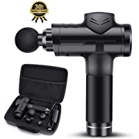 SQTECH Powerful Massage Gun Handheld Massager with Case for Trigger Points, Super Fast Recovery