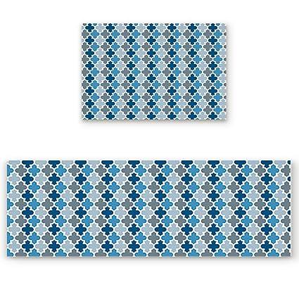Amazon.com: Greday Kitchen Rugs, Non Slip Mat Kitchen Rug ...