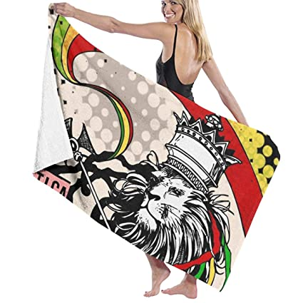 Amazon.com: NiYoung Beach Towel for Kids, Soft Blanket Throw ...