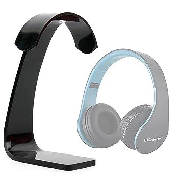 DURAGADGET Soporte para Auriculares Ecandy Bluetooth/Sound Intone CX05 / Philips SHL3060BK/00 con