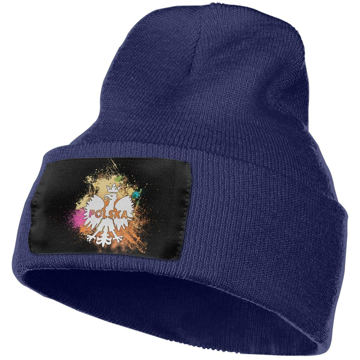 Skull Caps Dont Thread On Me Winter Warm Knit Hats Stretchy Cuff Beanie Hat Black